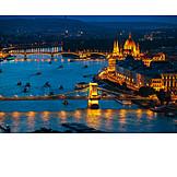 Boating, Danube river, Budapest