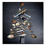 Christmas tree, Kitchen utensils