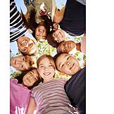 Zusammenhalt, Kinder, Gruppenbild