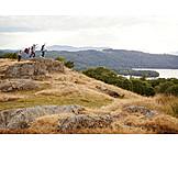 Summit, Friends, Hike