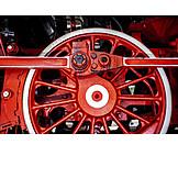 Steam locomotive, Spoked