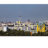 Berlin, Television tower, Council house