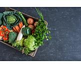 Vegetable, Vegetable box