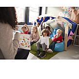 Kinder, Kindergarten, Melden