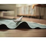 Paper boat, Wave