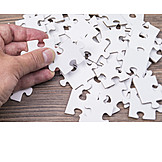 Jigsaw puzzle, Jigsaw piece, Puzzle