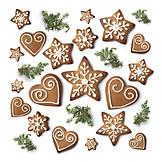 Gingerbread, Christmas cookies