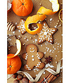 Christmas cookies, Gingerbread man