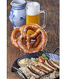 Bavarian cuisine, Sauerkraut, Grilled sausage