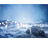 Lights, Snow, Gift