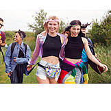 Teenager, Blumenkranz, Festivalsommer