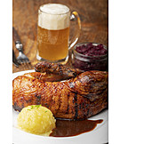 Christmas dinner, Roast goose, Haunch