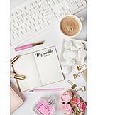 Planning, Note Pad, Blog, Blogger