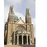 Church, Brussels, Basilica of the sacred heart