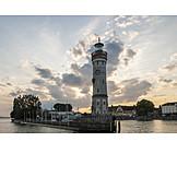 Lighthouse, Bodensee, Lindau