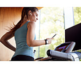 Sports training, Control, Treadmill, Smart phone