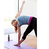 Yoga, Yoga exercises, Trikonasana