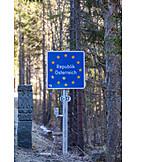 Border, Austria, National border, Border control