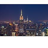 Skyscraper, New york, Manhattan, Empire state building, One world trade center