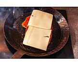 Gratin, Cutlet, Frying pan
