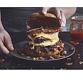 Sideboards, Cheeseburger, Burger