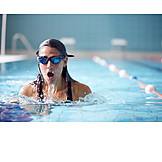 Swimmer, Swimming