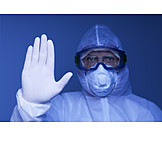 Research, Protective Workwear, Stop, Scientist, Corona Virus