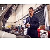 Apprentice, Mechanic, Mechanician