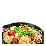 Spaghetti, Vegetarian, Pasta Dish