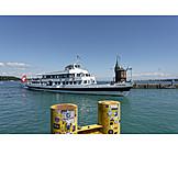 Constance, Cruise ship, Harbor entrance