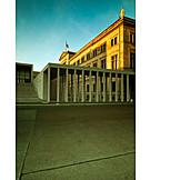 Berlin, Museum island, Old national gallery, James simon gallery