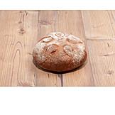 Bread, Loaf, Rye bread