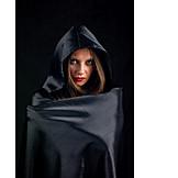 Cloak, Gothic style, Hood