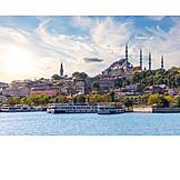 Harbour, Ferry, Istanbul, Eminönü