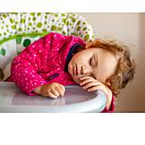 Kleinkind, Müde, Eingeschlafen