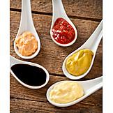 Ketchup, Mustard, Dip, Seasoning, Soy sauce, Mayonnaise
