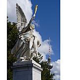 Berlin, Statue, Castle bridge