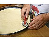 Wheel, Cutting, Dough