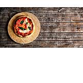 Pizza, Buffalo mozzarella, Pizza margherita