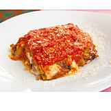 Vegetarian, Lasagna