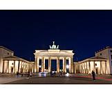 Berlin, Brandenburg gate, Pariser platz