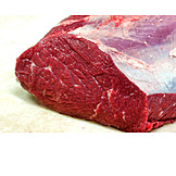Beef, Meat portion, Raw meat