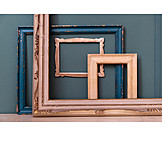 Wooden frames, Collection, Picture frame