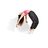 Dancer, Hip hop, Back bending