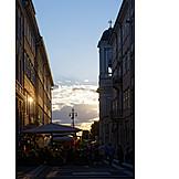 Pedestrian zone, Trieste