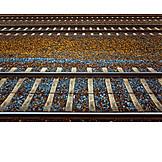 Railroad track, Track bed